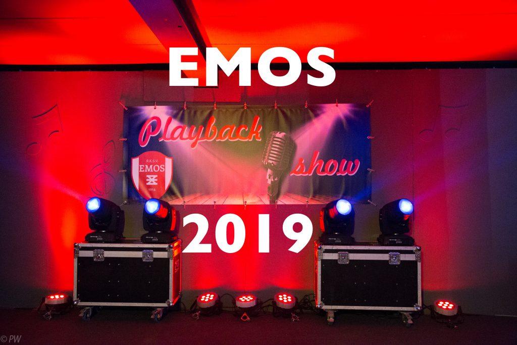 Foto's EMOS Playbackshow 2019