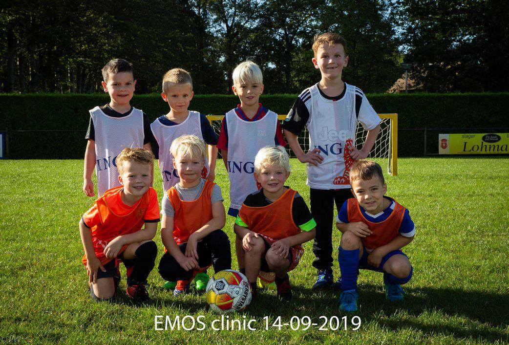 EMOS Clinic start weer